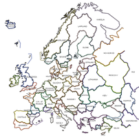 Caledonia Timeline - Europe by Neethis