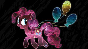 Intergalactic Pinkie Pie Wallpaper by ChingyPants