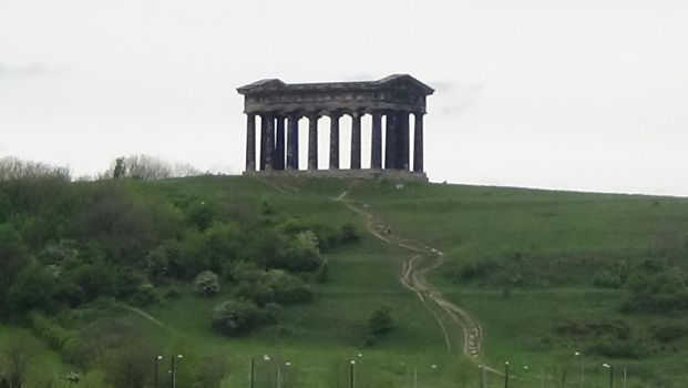 Path to Penshaw Monument by Fran48