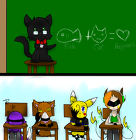 School Lesson by SparkyChan23