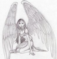 Angel by Broken--Wings
