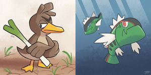 OVERLOOKED POKEMON #1 - Farfetch'd + Basculin