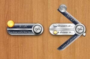 Metal Craze Weather for XWidget by xwidgetsoft