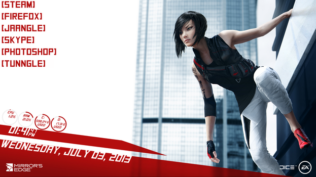 Mirror's Edge 2  (Creative title!) by RedInk853