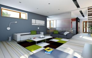 house project SAMAR interior 1 by Antioksidantas