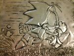Metal Embossing: Classic Sonic by XxSir-Dippingsauce