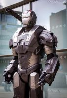 War Machine - Ironman by Paper-Cube
