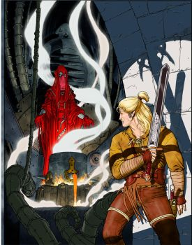 Cover and colors Dragonero n.2 by GiuseppeMatteoni