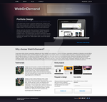 Web On Demand - FREE PSD by gerbengeeraerts