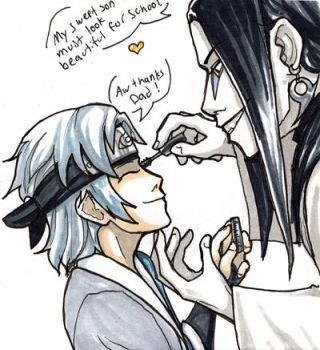 Father Son Bond by Yakushi--Kabuto