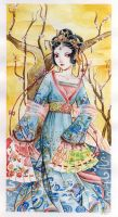 Chinese dancer by lilie-morhiril