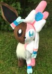 Eevee / Sylveon Fusion Plush FOR SALE by LovingMissMuse