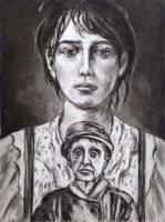 Portrait of Camille Claudel by Art-of-Eric-Wayne