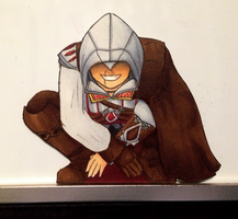 Ezio Auditore da Firenze Paperchild by MidnightCootie