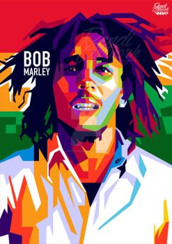 BOB MARLEY IN WPAP by endienumber4