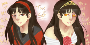Face Yourself- Yukiko by Fire-N-Ice42