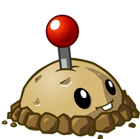 Plants vs Zombies 2 Potato Mine by illustation16