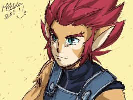 Rough: Lion-O by MZ15