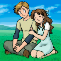 FMA-A Normal Boy and His Girl by queenbean3