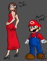 Mario and Pauline Body Swap by CM-The-Artist