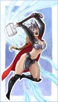 Lady Thor Pinup Post by alexichabane