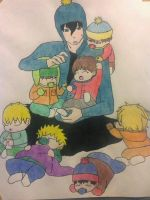South Park Babies by CharizardAngel86