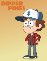 Dipper Pines In Flannel by TheFreshKnight