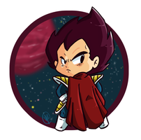 Prince Vegeta by Budgies