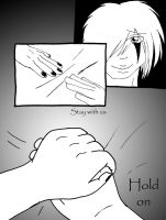 Hold on -Page Two- by Darketh90