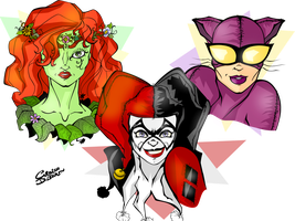 Gotham City Sirens by Ciro1984