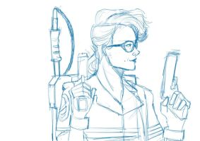 Jillian Holtzmann (rough draft) by alternativejunkie