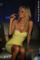 Jenna Jameson savors her drink by JerryBarmore