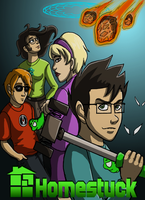 Homestuck Pseudo Poster by Kitty-Quixotic