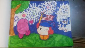 Happy 4th of july!!! by vivilong