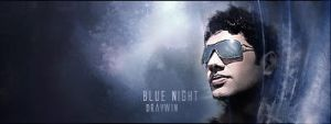 Blue Night C4D by draywin848