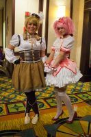 Mami and Madoka - ALA 2013 - Day 1 by EriTesPhoto