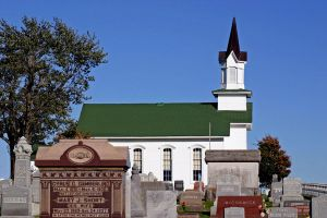 Bethel Church and Cemetery by bluesman219