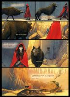 Scarlet and the Wolf page 4 by porcelianDoll