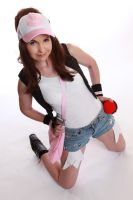 Hilda from black and white Pokemon trainer by neoangelwink