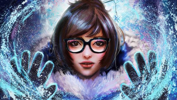 Mei - Overwatch by Asteltainn