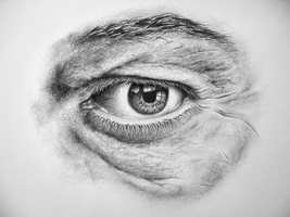 detailed eye by pitschke