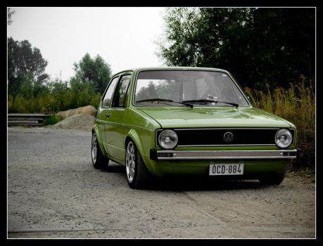 Green Golf MK1 by Andso
