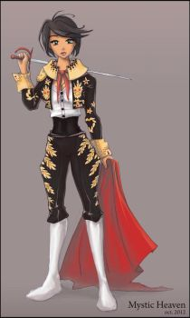 Matador girl by MysticHeaven