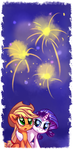 Told you you would like it, Dear. - New Year 2015 by aJVL