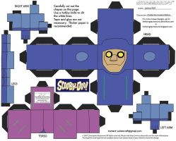 SD3: Charlie the Robot Cubee by TheFlyingDachshund