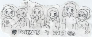 Friends 4 ever epic x3 by ChristalLovePkmn