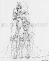 Sesshomaru's family by 1amm1