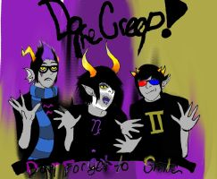 Homestuck Creeps by OriontheHyena