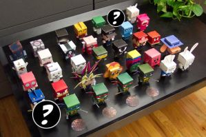 All Lined Up by cubeecraft