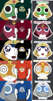 Keroro Gunso Shirt Desgins by Atlanta-Hammy